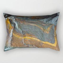 Abstract rock art Rectangular Pillow
