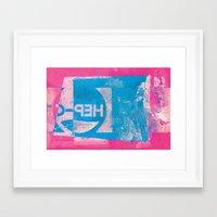 oregon Framed Art Prints featuring OREGON by Dan Peterka