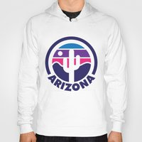 arizona Hoodies featuring Arizona by Lopez91