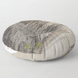 Snowy Egret Floor Pillow