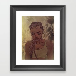 Faith & Focus Framed Art Print