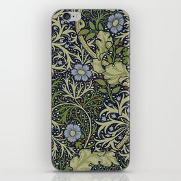 William Morris Seaweed Pattern iPhone Skin