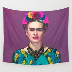 Trendy Frida Kahlo Wall Tapestry