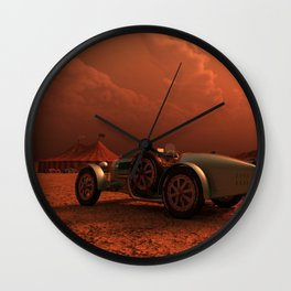 Desert Racer Wall Clock