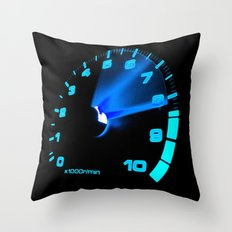 REV COUNTER Throw Pillow