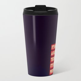 Office SteveJobs Quote Travel Mug