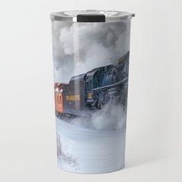 North Pole Express Train (Steam engine Pere Marquette 1225) Travel Mug