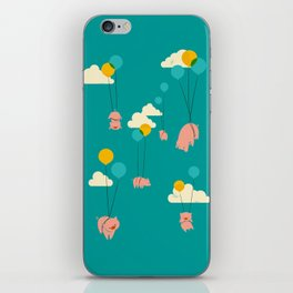 Pigs Fly iPhone Skin