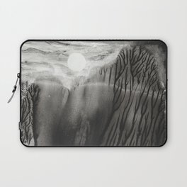 Blackwater Park - abstract watercolor monotype Laptop Sleeve