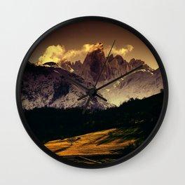 Naranjo de Bulnes (known as Picu Urriellu) in Picos de Europa National Park, Asturias, Spain Wall Clock