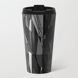 Etching in Black and White Travel Mug