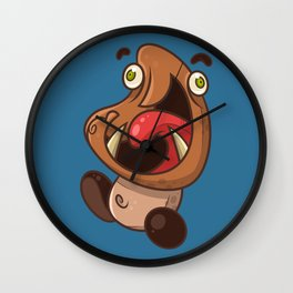Excited Goomba Wall Clock