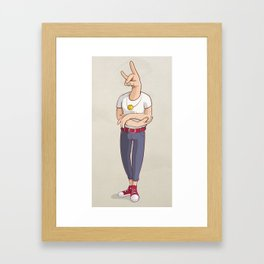 Smile Me Framed Art Print