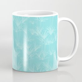 Papyrus Pond in Nile Green Coffee Mug