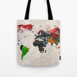 World Map 56 Tote Bag