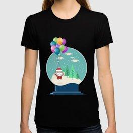 Santa Ride Ballons T-shirt