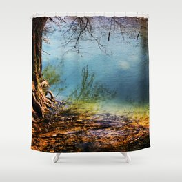 Where's The Waters Edge? Shower Curtain