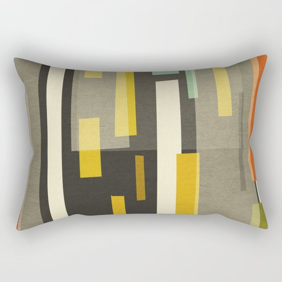 Straight Up New York Rectangular Pillow
