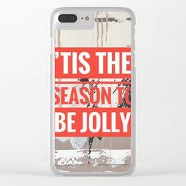 Snowfall - 'Tis the season Clear iPhone Case