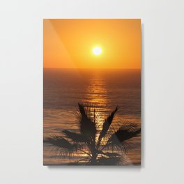 Sunset at Strands  Metal Print