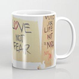 Love Not Fear Coffee Mug
