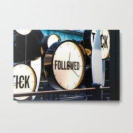 Clocks (Guinness Factory) Metal Print