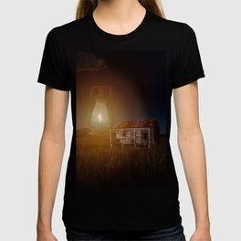 The hut in the meadow by GEN Z T-shirt