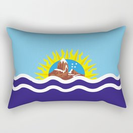 Flag of Santa Cruz Rectangular Pillow