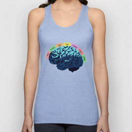 My Brain Has Too Many Tabs Open Unisex Tank Top