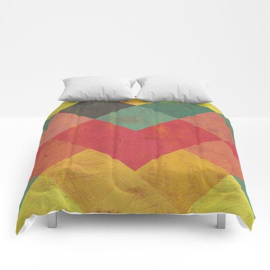 Aztec Vintage Pattern 11 Comforters
