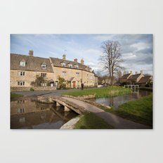 Lower Slaughter Canvas Print