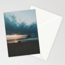 Golden Hour at Cape Kiwanda Stationery Cards