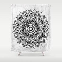 Pleasure Marble Shower Curtain