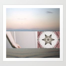 Where are you going because Art Print