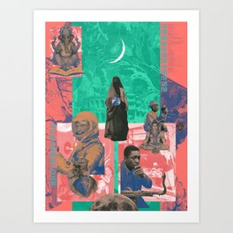 Clairvoyance / Let The Blind Lead Those Who Can See But Who Cannot Feel Art Print