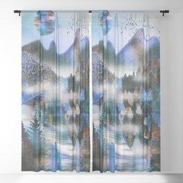Winterland Sheer Curtain