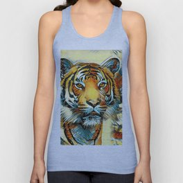 AnimalArt_Tiger_20170605_by_JAMColorsSpecial Unisex Tank Top
