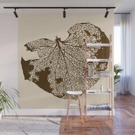 Leaf Skeleton Wall Mural
