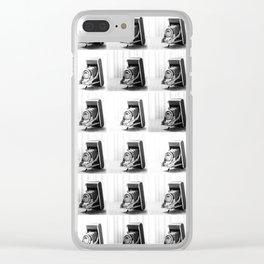Retro Camera Clear iPhone Case
