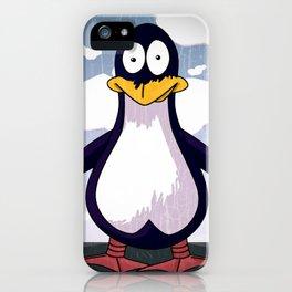 Patrick the Penguin iPhone Case