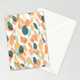 Pastel Brushstrokes Stationery Cards