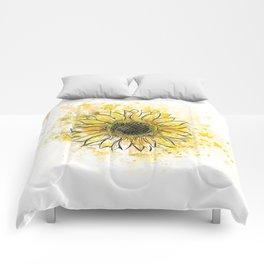 Sun/Flower Comforters