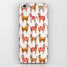 Alpacas iPhone Skin