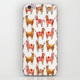 Alpacas iPhone Skin