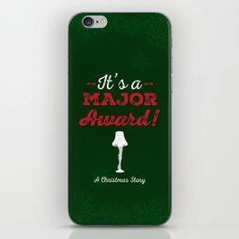 It's a Major Award! iPhone Skin