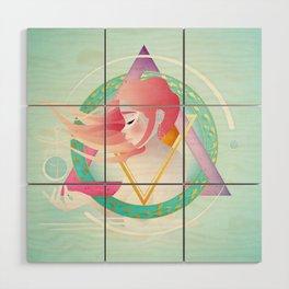 Pisces :: Zodiac Geometry Wood Wall Art