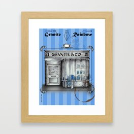 G&R #21 Framed Art Print