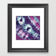 Tie-Dye III Framed Art Print