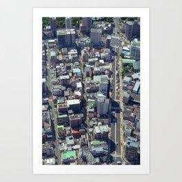 Tokyo-02 Art Print