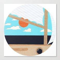 Sea Fever 2 Canvas Print